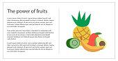 Fresh fruits concept