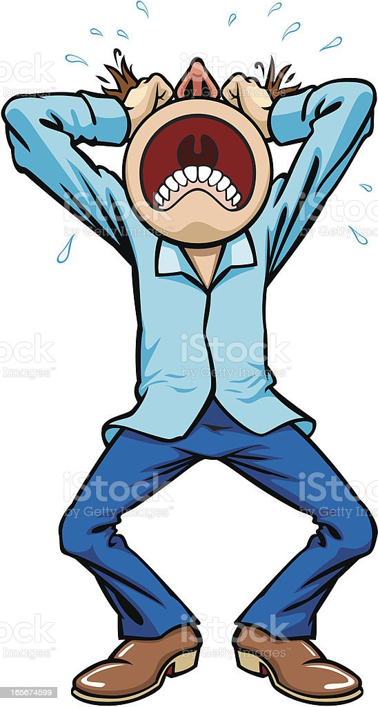 Frustration royalty-free frustration stock vector art & more images of anger