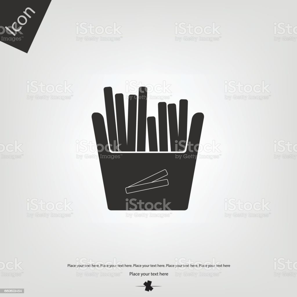 Fry icon royalty-free fry icon stock vector art & more images of cooking oil