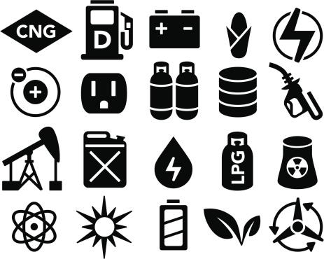 Fuel and Power Generation Symbols