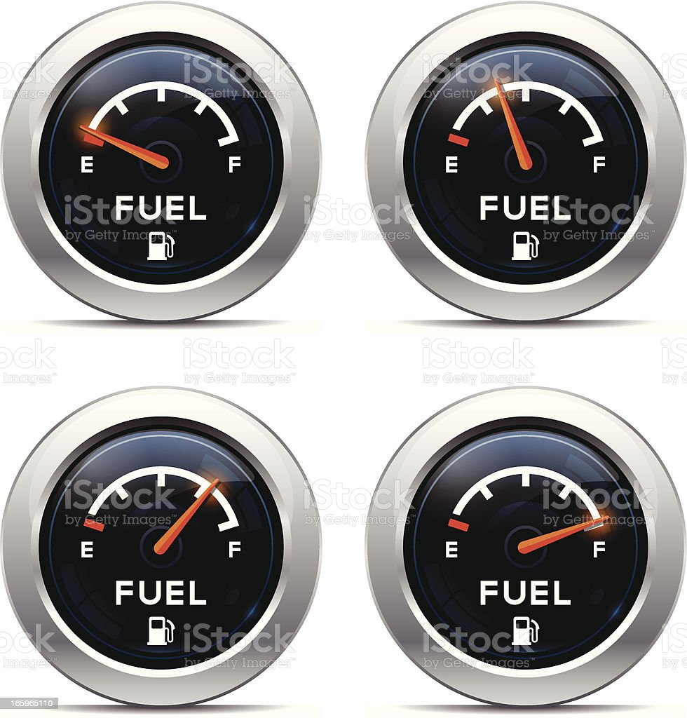 Fuel Dashboard royalty-free fuel dashboard stock vector art & more images of car