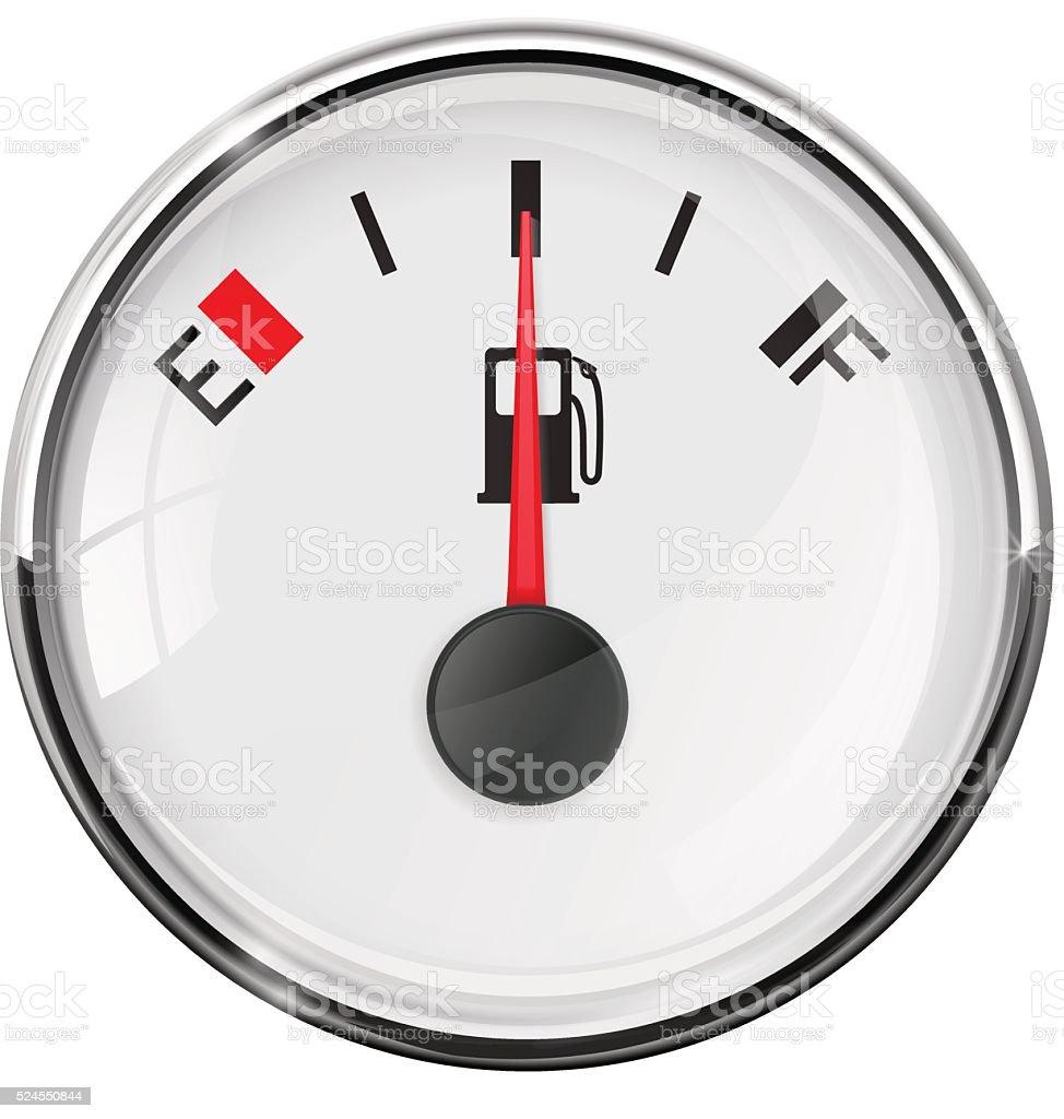 Fuel Gauge Symbol Fuel Gauge Half Tank W...