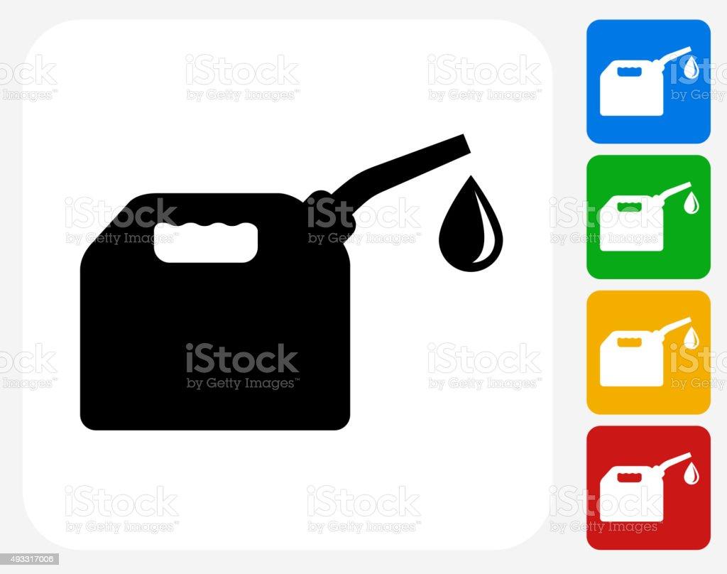 Fuel Symbol flache Grafik Design – Vektorgrafik