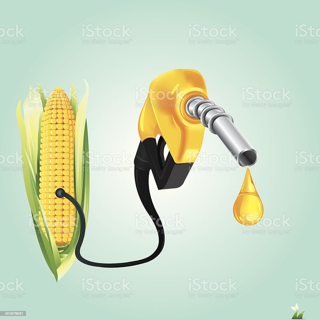Fuel nozzle.vector illustration vector art illustration