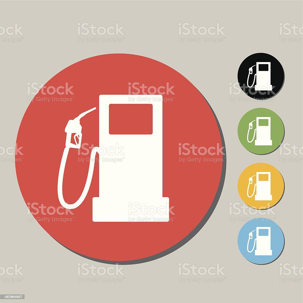 fuel pump icon royalty-free fuel pump icon stock vector art & more images of black color
