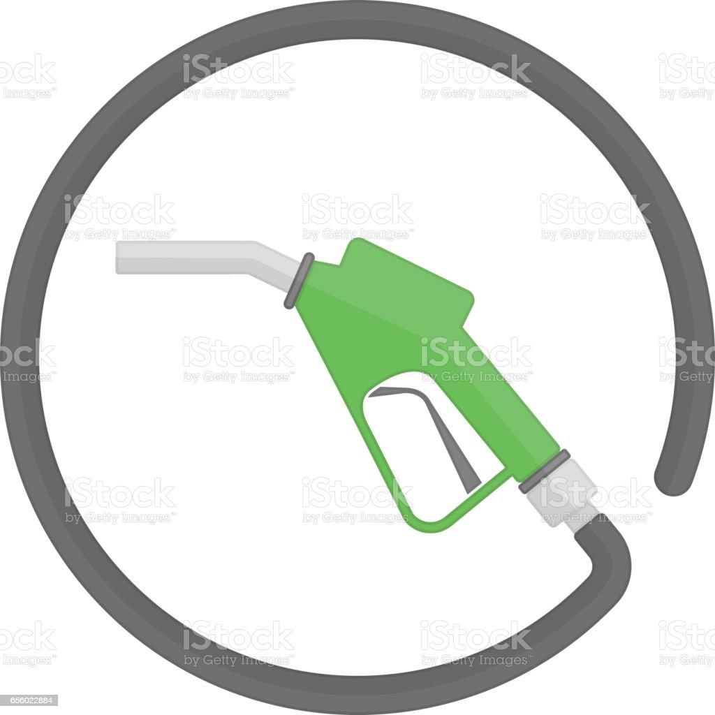 Fuel pump icon. vector art illustration