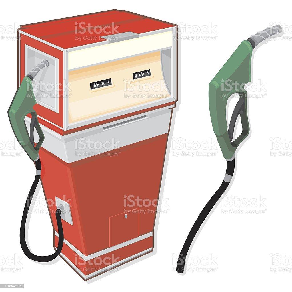 Fuel Pump royalty-free stock vector art