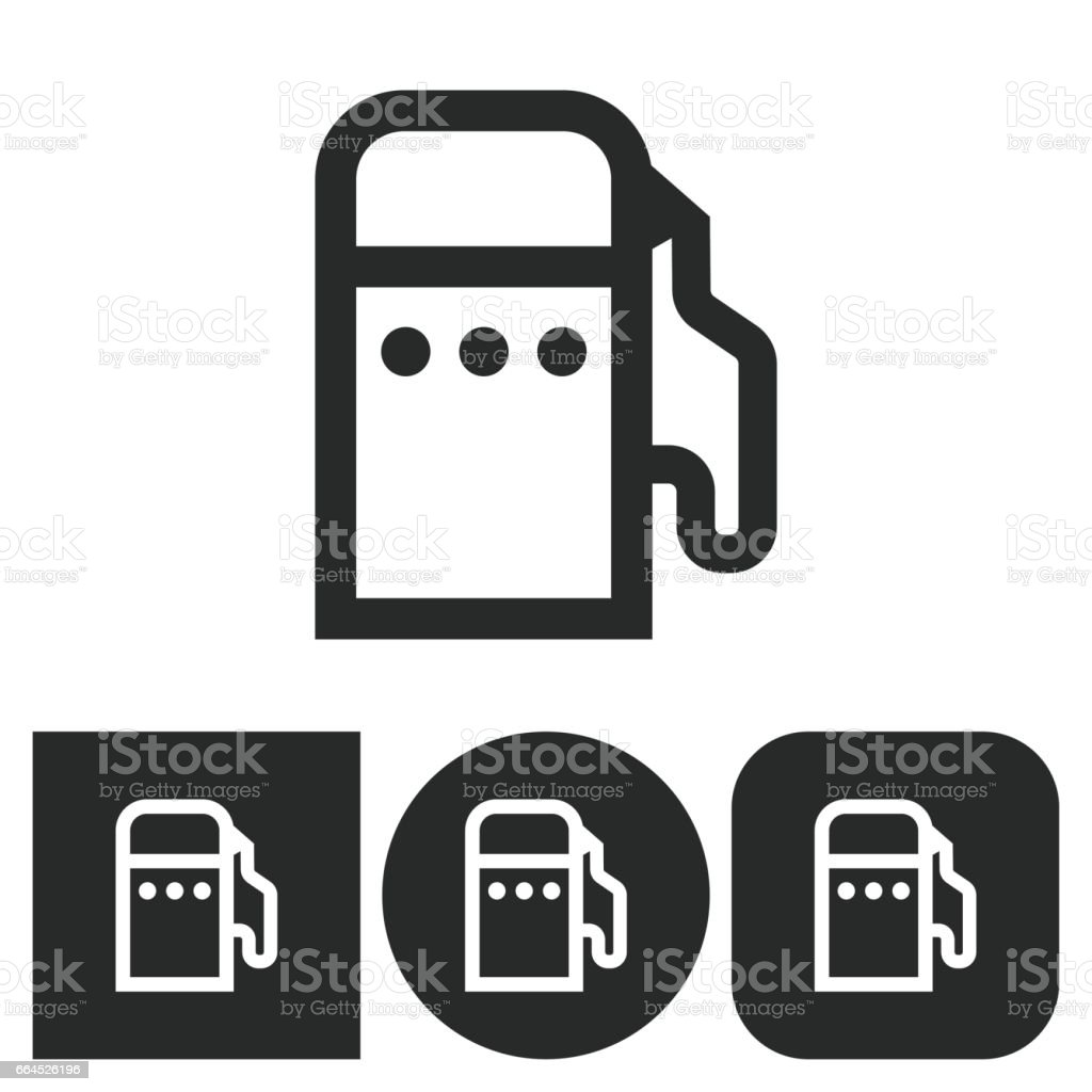 Fuel - vector icon. royalty-free fuel vector icon stock vector art & more images of art