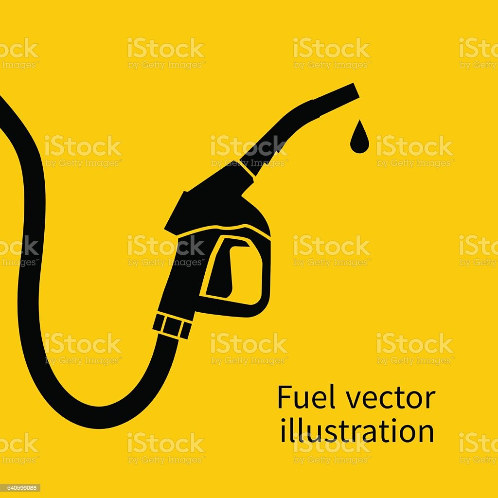 Fuel vector art illustration