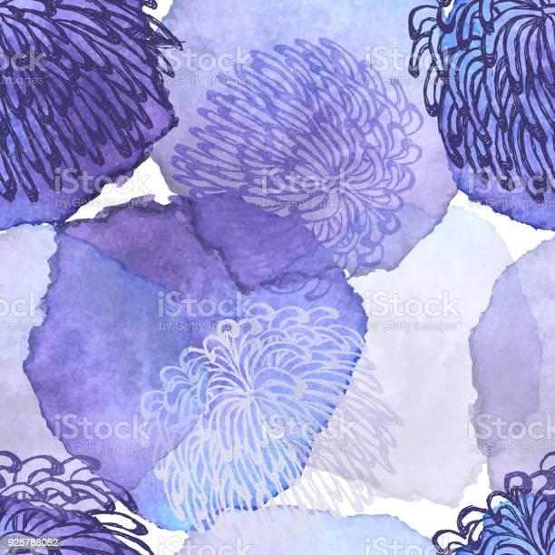 Fuji mum dalhia flower seamless vector pattern ink drawing with vector id925788082?b=1&k=6&m=925788082&s=612x612&h=5ubumd7oo p0tubq9u7cvcdtvn0whk1fh4yyu4etbdg=