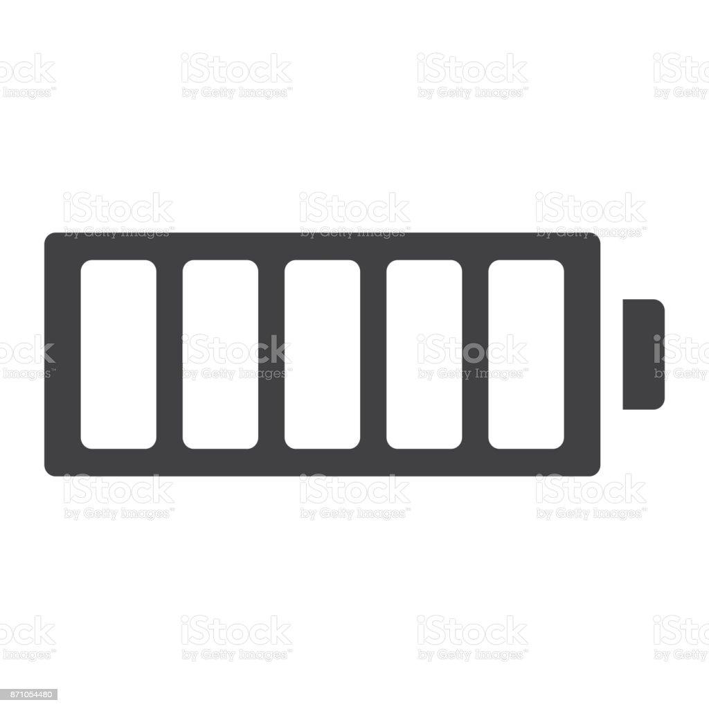 Volle Batterie Symbol Symbol Web Und Mobile Vektorgrafiken Energie ...