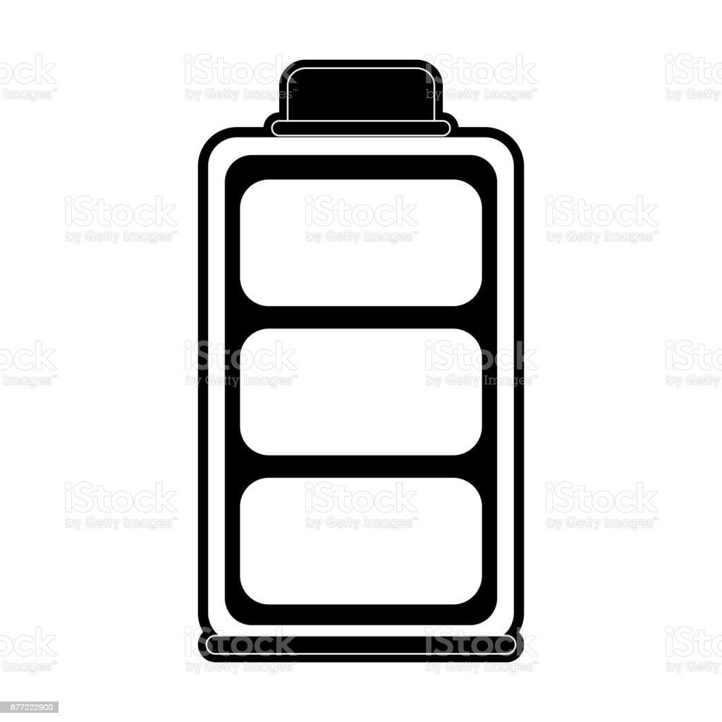 Die Batterie Symbol Stock Vektor Art und mehr Bilder von ...