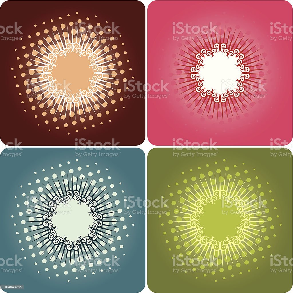 Full Colored Frames Stock Vector Art & More Images of Brown ...