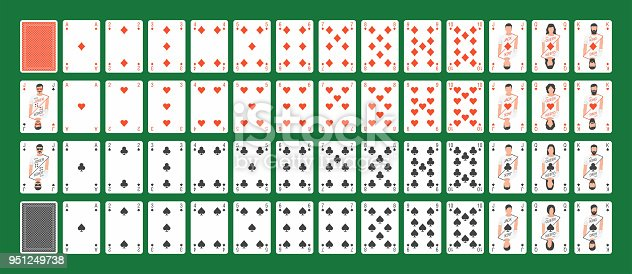 istock Full Deck of Playing Cards 951249738