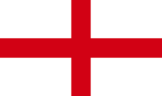 Full frame view of English flag