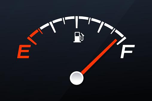 Full Gas Tank Gauge