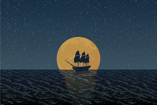 Full Moon Ship