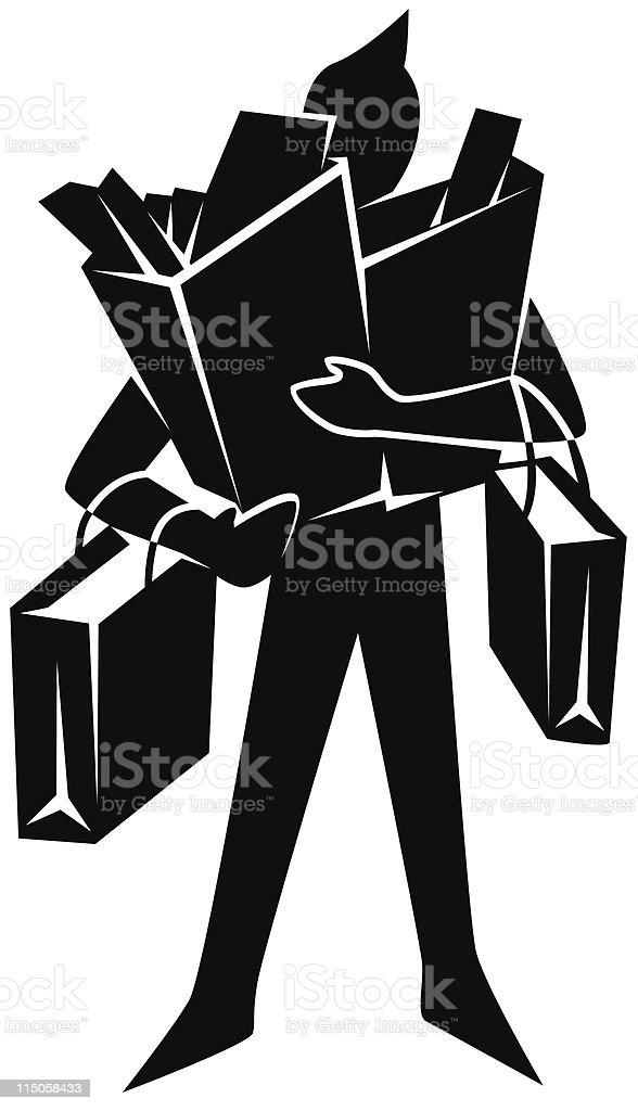 Des sacs de - Illustration vectorielle