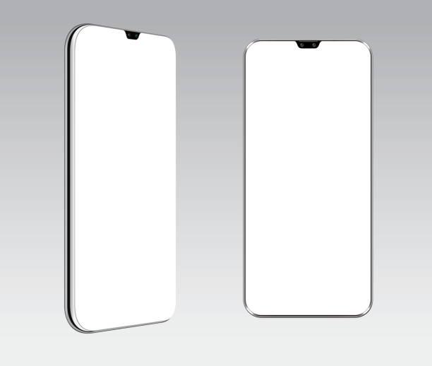 Vollbild-Handy – Vektorgrafik