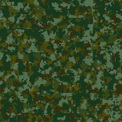Full seamless military camouflage dark texture skin pattern