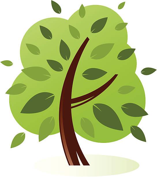 Full Tree vector art illustration
