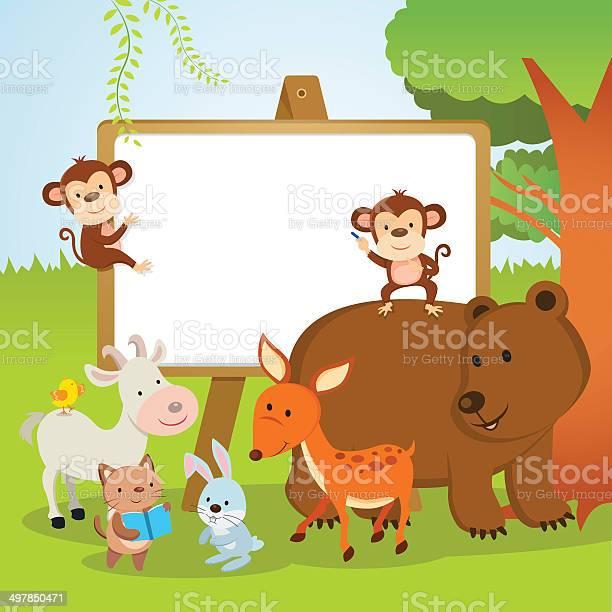 Fun animals school vector id497850471?b=1&k=6&m=497850471&s=612x612&h=rfe grybg l0x3d9guvqt2hitlpbf4iwnujoifpv5uw=