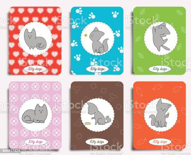 Fun cats with cute backgrounds vector id646817424?b=1&k=6&m=646817424&s=612x612&h=lqimjtwrk60xweupleuvf yi0jd nz1zekm9fcak0ni=