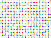 istock Fun colorful abstract background illustration 1224255299