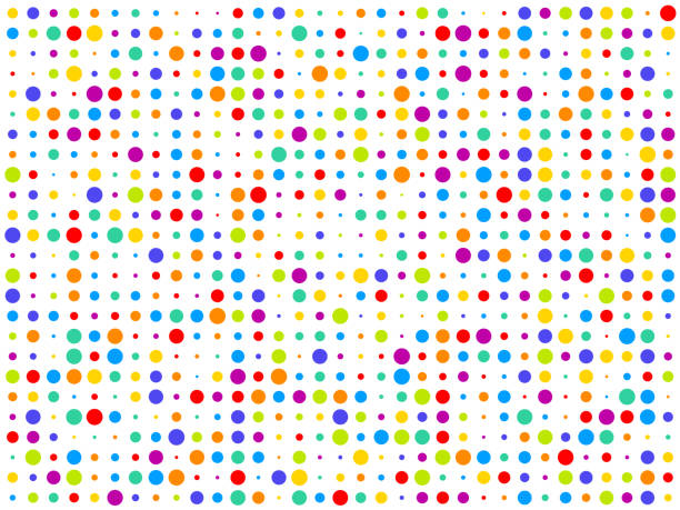 Fun colorful abstract background illustration vector art illustration