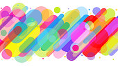 istock Fun colorful abstract background illustration 1266676267