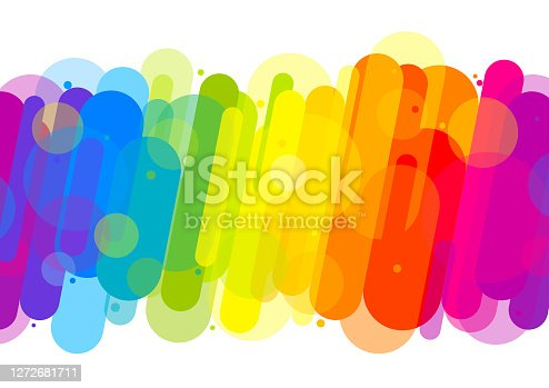 istock Fun colorful abstract background illustration 1272681711