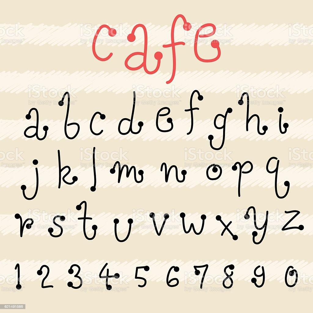 fun  doodle font collection,hand drawn alphabet set fun doodle font collectionhand drawn alphabet set - immagini vettoriali stock e altre immagini di album di ritagli royalty-free