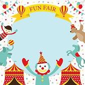 Fun Fair, Carnival, Circus, Frame