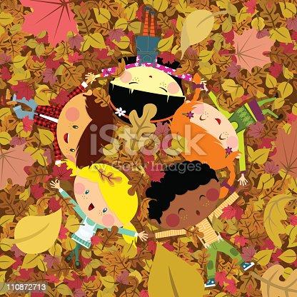 istock Fun fall 110872713