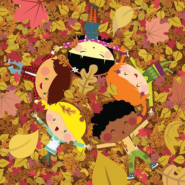 fun fall - plaid shirt stock illustrations