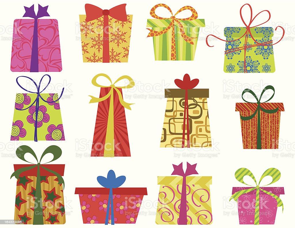Fun gifts royalty-free stock vector art