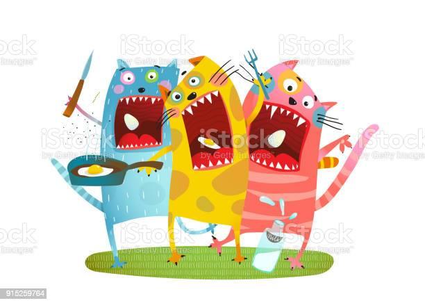 Fun hungry cats animals eating eggs vector id915259764?b=1&k=6&m=915259764&s=612x612&h=z9zulwycgthkkzkjt c4jvt5fyzb6y1cfsixjqvbbuw=