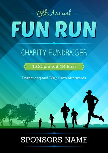 fun run poster