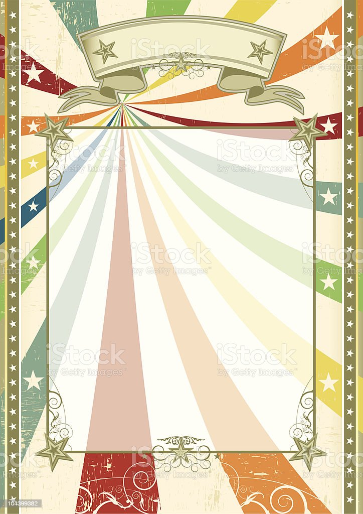 Fun scratched vintage background royalty-free fun scratched vintage background stock vector art & more images of abstract