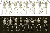 Fun skeletons