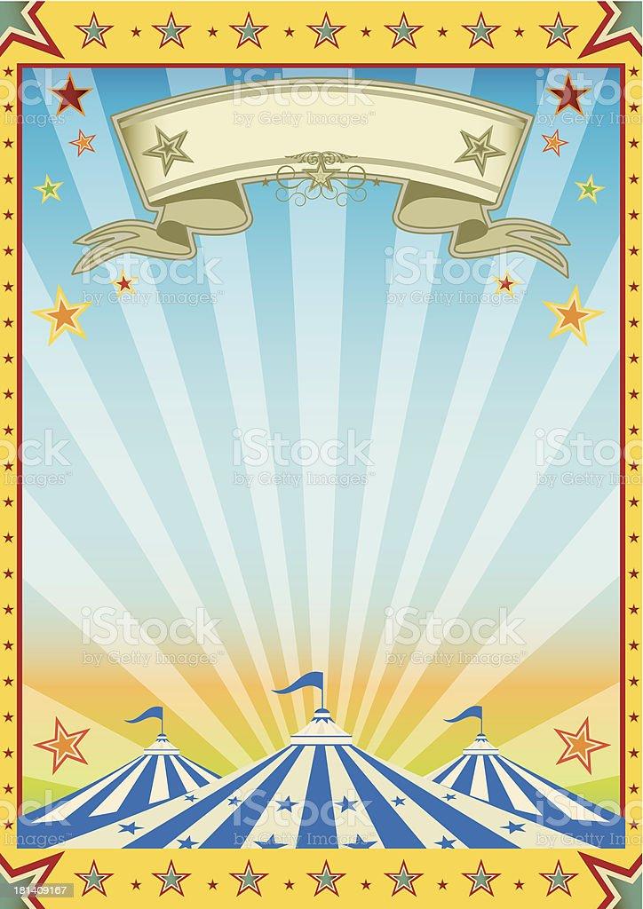 Fun yellow circus color sun party.