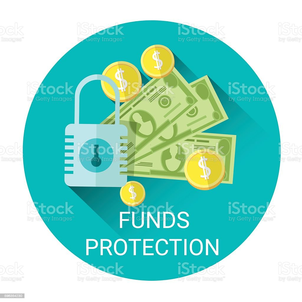 Fund Budget Protection Business Economy Icon royalty-free fund budget protection business economy icon stock vector art & more images of banking