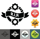 Funeral wreath icon | solicosi series