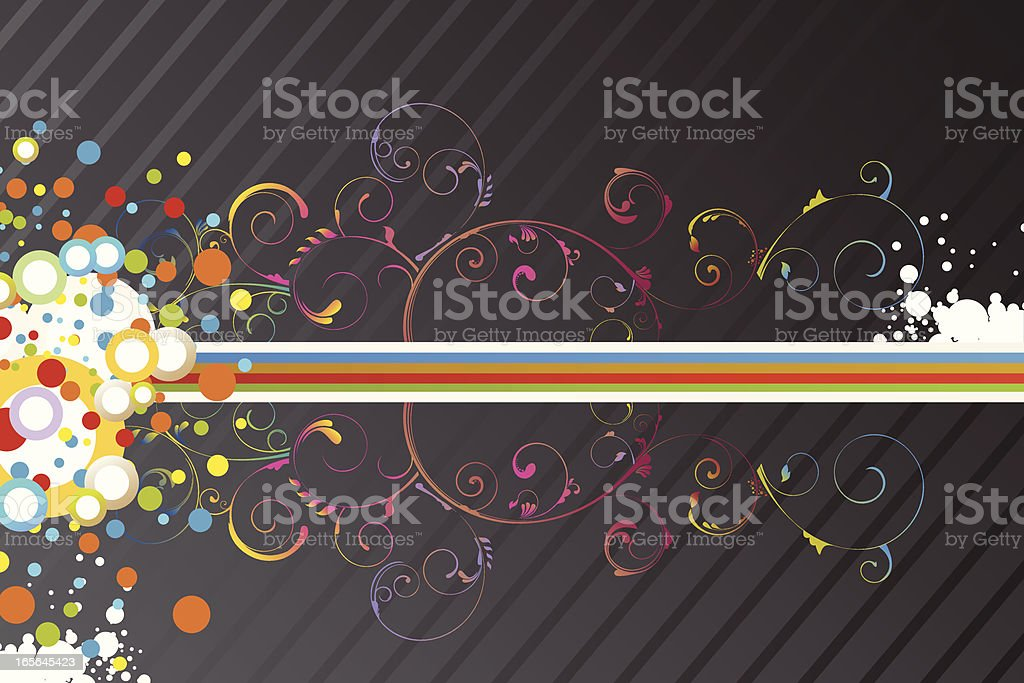 Funky Background royalty-free stock vector art