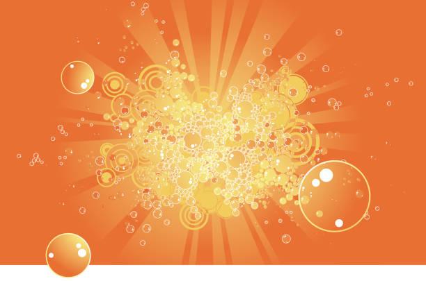 ilustraciones, imágenes clip art, dibujos animados e iconos de stock de funky burbujas - bebida gaseosa