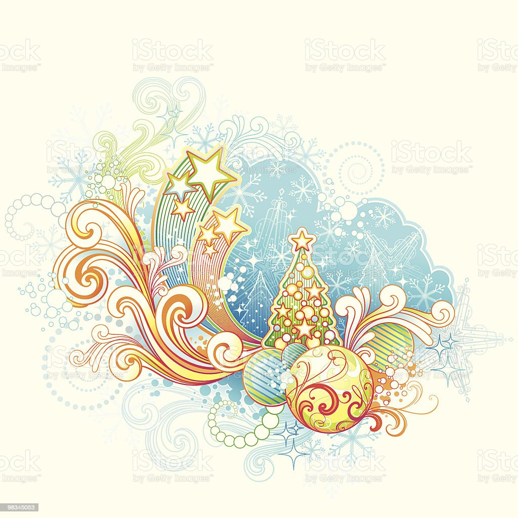 Funky Christmas royalty-free funky christmas stock vector art & more images of celebration