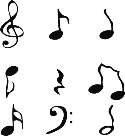 Funky music notation