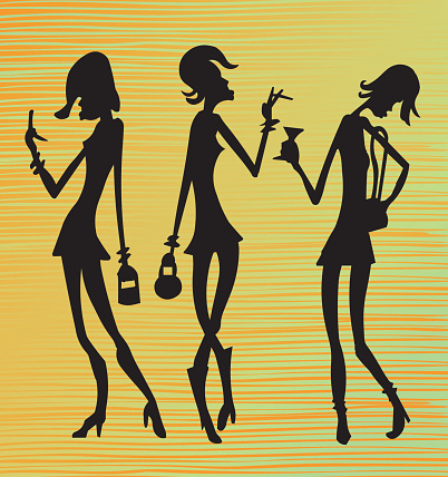 Funky Silhouettes