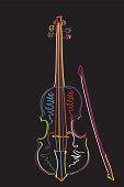 Funky violin