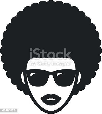 Afro Hair Vector afro Free Logo Designs...